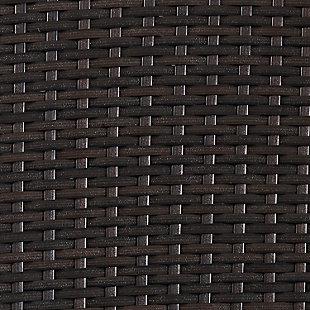 Crosley Palm Harbor Outdoor Wicker Storage Bin, , large