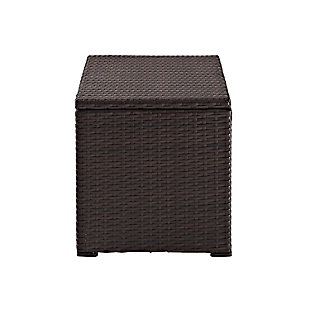 Crosley Palm Harbor Outdoor Wicker Cooler, , large