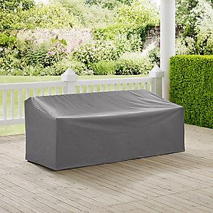 Crosley Outdoor Sofa Furniture Cover, Gray, rollover