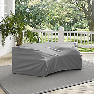 Crosley Outdoor Catalina Round Sectional Furniture Cover, , rollover