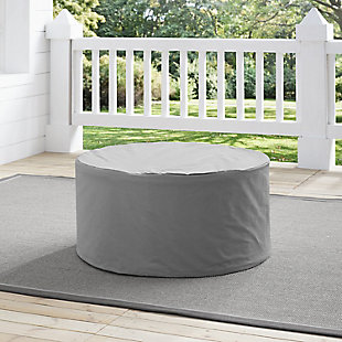 Crosley Outdoor Catalina Round Table Furniture Cover, , rollover