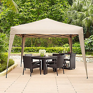 Crosley Hampton Collapsible Gazebo, , rollover