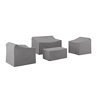 Crosley 4-Piece Furniture Cover Set, , large