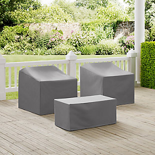 Crosley 3-Piece Furniture Cover Set, , rollover