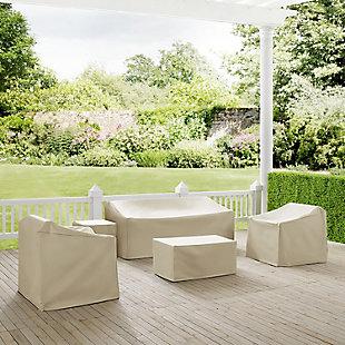 Crosley 5-Piece Furniture Cover Set, , rollover