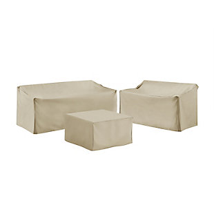 Crosley 3-Piece Sectional Cover Set, , large