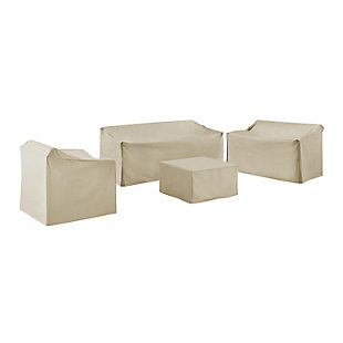 Crosley 4-Piece Sectional Cover Set, , large