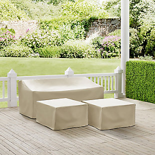 Crosley 3-Piece Sectional Cover Set, , rollover