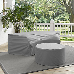 Crosley Catalina 2-Piece Furniture Cover Set, , rollover