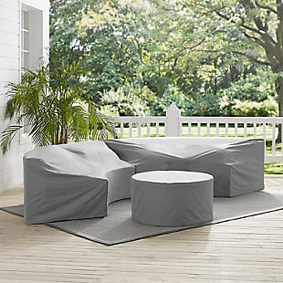 Crosley Catalina 3-Piece Furniture Cover Set, , rollover