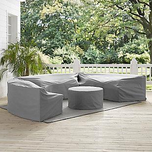 Crosley Catalina 4-Piece Furniture Cover Set, , rollover