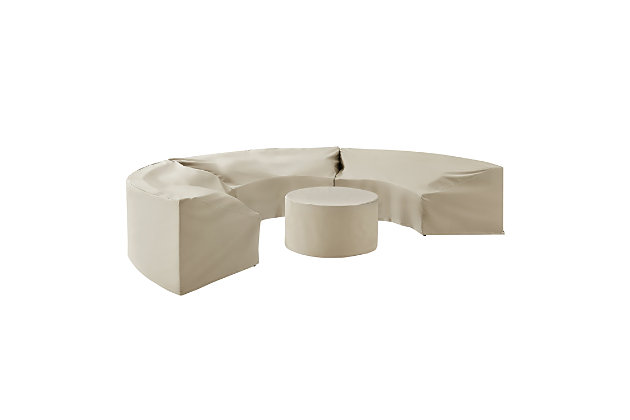 Crosley Catalina 4-Piece Furniture Cover Set, , large