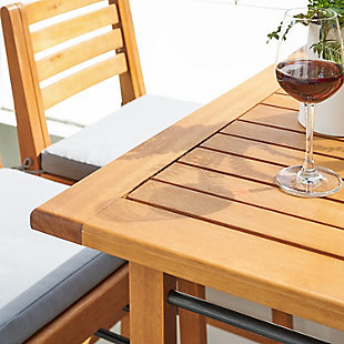 Vifah Gloucester Outdoor Counter Height Dining Table, , large