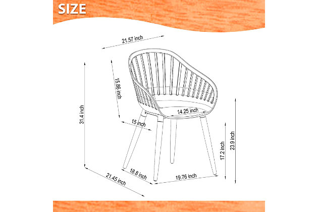 Amazonia Teak Finish White Arm Chair (Set of 4), White, large
