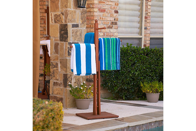 Southern Enterprises Lemorna Towel Rack, , large