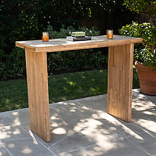 Southern Enterprises Palmer Indoor/Outdoor Bar Table, , rollover