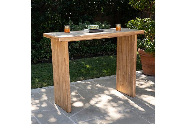 Southern Enterprises Palmer Indoor/Outdoor Bar Table, , large