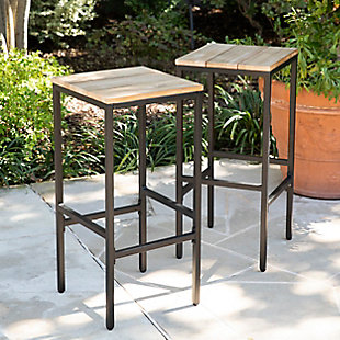 Southern Enterprises Palmer Indoor/Outdoor Barstools 2-Piece, , rollover
