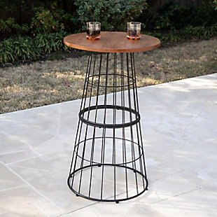Southern Enterprises Crolden Round Outdoor Accent Table, , rollover