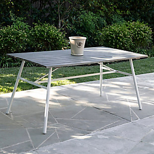 Southern Enterprises Greg Indoor/Outdoor Rectangular Dining Table, , rollover