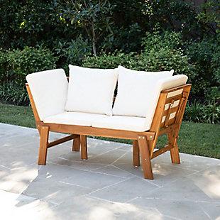 Southern Enterprises Dolavon Outdoor Convertible Lounge Chair, , rollover