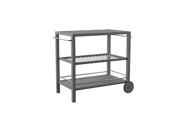 Southern Enterprises Betra Outdoor Bar Cart, , large