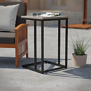 Southern Enterprises Tukker Outdoor C-Table, , rollover