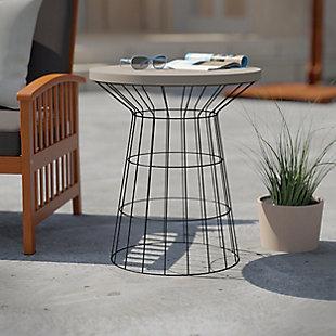 Southern Enterprises Dornan Outdoor Accent Table, , rollover