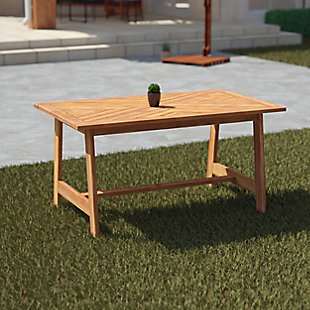 Southern Enterprises Desis Outdoor Dining Table, , rollover