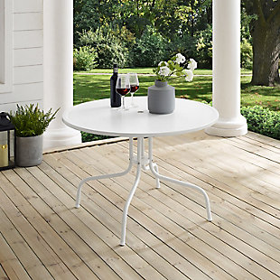 "Crosley Griffith Outdoor 40"" Dining Table, , rollover"