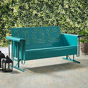Crosley Bates Outdoor Sofa Glider, , rollover