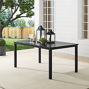 Crosley Kaplan Outdoor Dining Table, , rollover