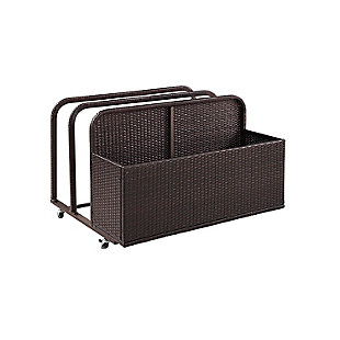 Crosley Palm Harbor Outdoor Wicker Float Caddy, , large