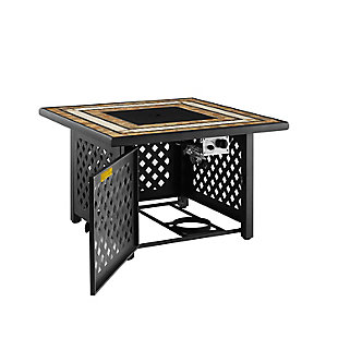 Crosley Tucson Fire Table, , large