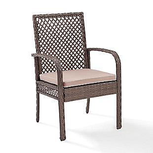 Crosley Tribeca Outdoor Wicker Dining Chair (Set of 4), , rollover