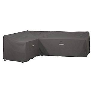 """Classic Accessories Ravenna Water-Resistant 104"""" Patio Left Facing Sectional Lounge Set Cover, , rollover"""