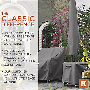 """Classic Accessories Ravenna Water-Resistant 100"""" Patio V-Shaped Sectional Lounge Set Cover, , large"""