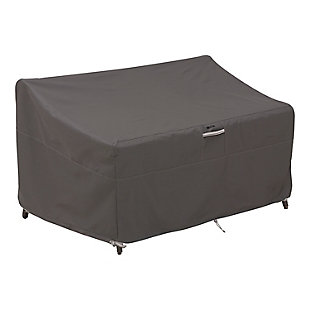 """Classic Accessories Ravenna Water-Resistant 88"""" Deep Seated Patio Loveseat Cover, , rollover"""