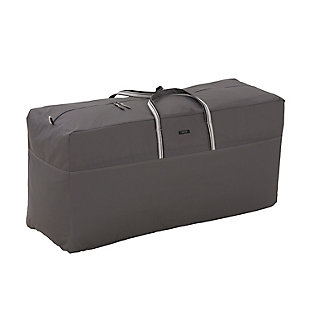 Classic Accessories Ravenna Water-Resistant Patio Cushion and Cover Storage Bag, , large