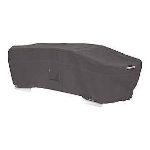 Classic Accessories Ravenna Water-Resistant Stackable Chaise Lounge Cover, , large