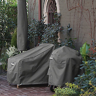 """Classic Accessories Ravenna Water-Resistant 56"""" Rectangular Fire Pit Table Cover, , rollover"""