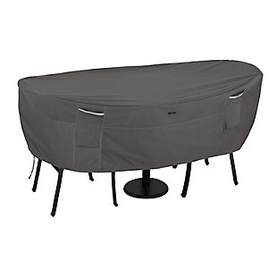 Classic Accessories Ravenna Water-Resistant Bistro Patio Table and Chair Cover, , large