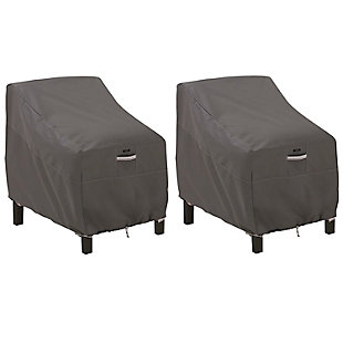 Classic Accessories Ravenna Water-Resistant Deep Seated Chair Cover (2-Pack), , large