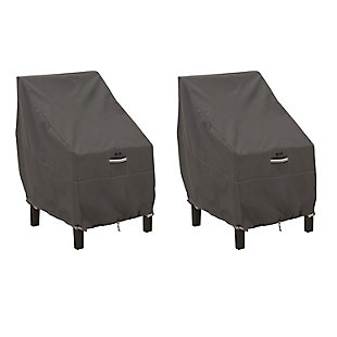 Classic Accessories Ravenna Water-Resistant High Back Chair Cover (2-Pack), , large
