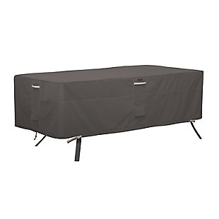 Classic Accessories Ravenna Water-Resistant Rectangular/Oval Patio Table Cover, , large