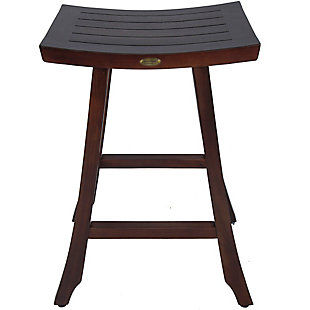 "DecoTeak Satori Teak 30"" Indoor/Outdoor Bar Stool, , large"