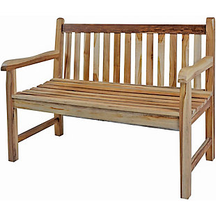 EcoDecors Hampstead Heath Garden Outdoor Bench, , rollover