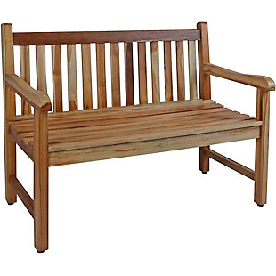 EcoDecors Hampstead Heath Garden Outdoor Bench, , large