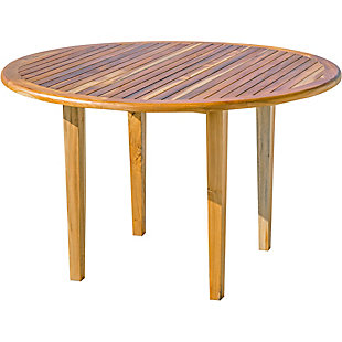 EcoDecors Oasis Round Dining Table, , large
