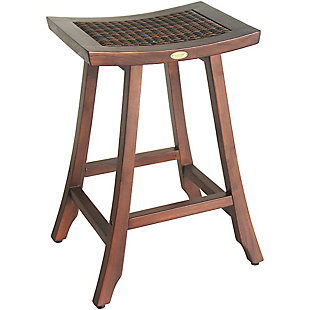 "DecoTeak Satori Teak 30"" Bar Stool, , large"
